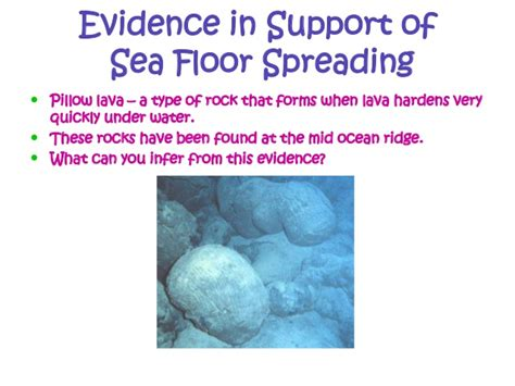 Evidence For Seafloor Spreading Has Come From by Sea Floor Spreading Whms