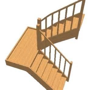 Escalier Hevea Lapeyre by B Escalier 2 4 Tournant Grand Palier En H 233 V 233 A Lamel C