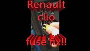 How To Fix Renault Clio Cigarette Lighter    12v Output