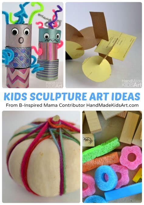 creative art lesson plans for preschoolers creative sculpture projects for b inspired 372
