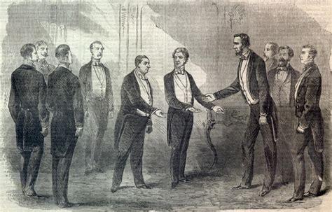 President Lincoln And Prince Napoleon
