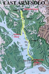 Where Is Browntown Alaska Location Map