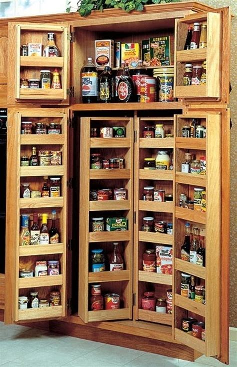 kitchen pantry cabinet ideas pantry cabinets to utilize your kitchen custom home design 5465