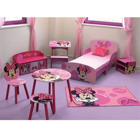 chambre et table d h e ensemble table et chaises minnie mouse disney bulle