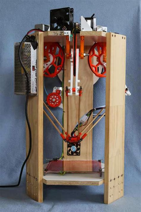 delta  printer    linear rods  bearings