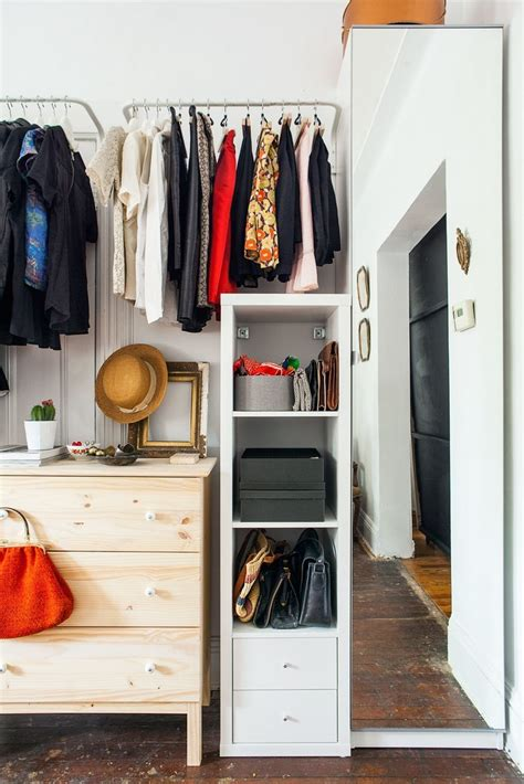 Real Life Solutions For Apartments With No Closets