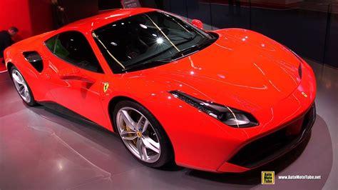 2018 Ferrari 488 Gtb  Exterior And Interior Walkaround