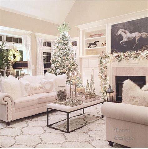 christmas living rooms ideas  pinterest