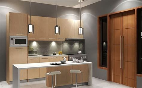 Kitchen Awesome Contemporary Island With Decoration Modern