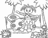 Coloring Garden Daisy Night Printable Flower Drawing Turn Into Beginners Photoshop Stuck Drawings Easy Upsy Journey Beginner Pinky Ponk Tree sketch template