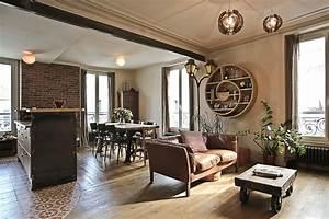Style Industriel Salon : s jour industriel r tro ~ Teatrodelosmanantiales.com Idées de Décoration