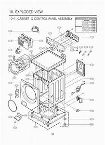 Lg Wm2101hw Parts List And Diagram   Ereplacementparts Com