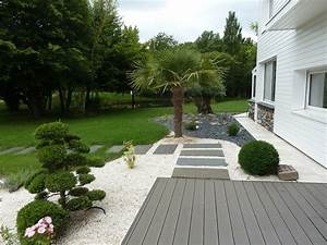 superbe amenagement allee entree maison 9 all233es et With amenagement allee entree maison