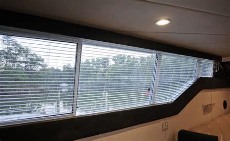 custom window blinds  boats  yachts