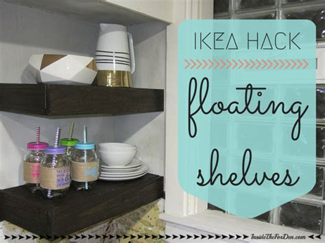 ikea hack floating shelves ikea floating shelves hack images