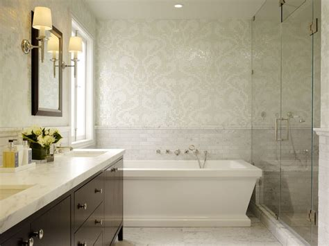 bathrooms damask design ideas