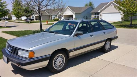 car maintenance manuals 1990 audi 200 navigation system 1990 audi 200 quattro avant 5 sp manual for sale photos technical specifications description
