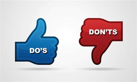 the do s don ts dos and don ts of seo marketing