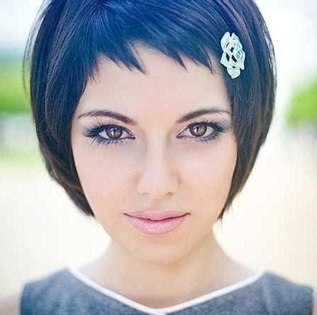 ideas  ladies short hairstyles  fringe