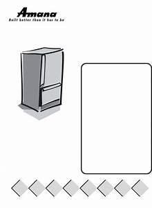 Amana Refrigerator Arse66mbw User Guide