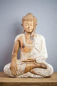 Statue Bouddha Maison Du Monde : statue d co statue bouddha mudra bh misparsha 40 cm ~ Teatrodelosmanantiales.com Idées de Décoration