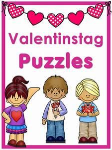 German Vocabulary Puzzles Valentinstag