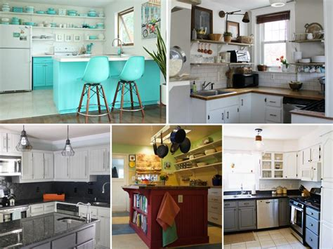 kitchen makeovers on a budget before and after before and after kitchen remodels on a budget hgtv Kitchen Makeovers On A Budget Before And After