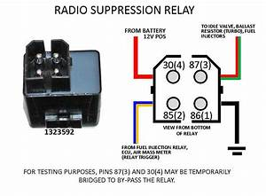 1991 740 Turbo  Raido Suppression Relay