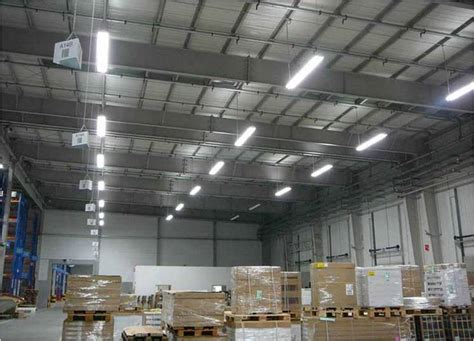 top tips for warehouse lighting