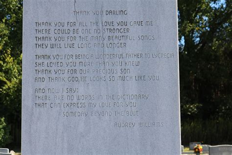 Hank Williams' Resting Place