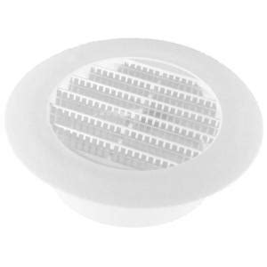 speedi products 4 in white round soffit vent sm rsv 4