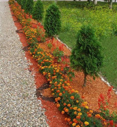 Backyard Flower Garden Design by 33 Beautiful Flower Beds Adding Bright Centerpieces To