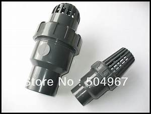 Pvc Foot Valve With 1 U0026quot  Size