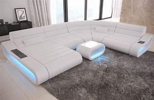 Xxl Wohnlandschaft Leder Ottomane : sofa wohnlandschaft leder couch ecksofa mit ottomane concept xxl led beleuchtung ebay ~ Bigdaddyawards.com Haus und Dekorationen