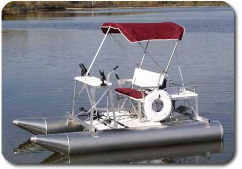 Aqua Cycle Pontoon Paddle Boat For Sale by Aqua Cycle Paddle Boats Marine Automated Dock Systems Inc