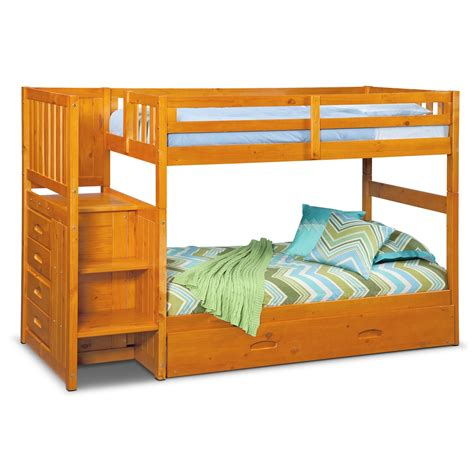loft bed ranger bunk bed with storage stairs
