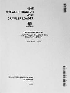 John Deere Jd 450e Crawler Tractor 455e Crawler Loader