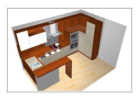 plan de cuisine ouverte sur salle à manger idees d 39 agencement cuisines ouvertes