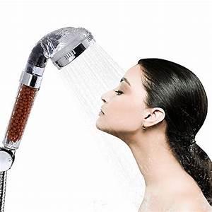 Wasser Sparen Dusche : dusche kopf bukm duschkopf ionic filter hohen druck wasser sparen handbrause filtration ~ Yasmunasinghe.com Haus und Dekorationen