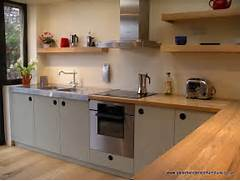 Dealing With Built In Kitchens For Small Spaces Oak And French Grey Kitchen Bespoke Design By Peter Henderson