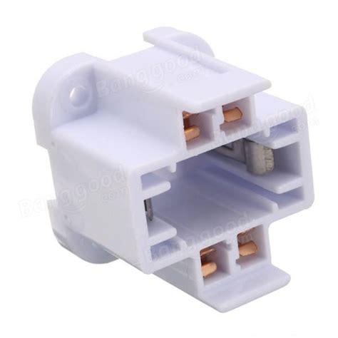 4 pin g24 socket base led light bulb adapter converter