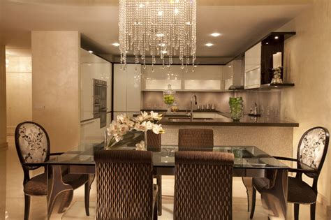 Simple Centerpieces For Dining Room Tables by Modern Interior Design At The Jade Beach Contemporary