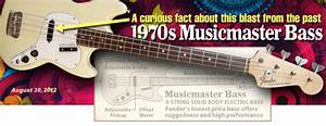 A Curious Fact  Why The 1970s Musicmaster Bass Had Such A