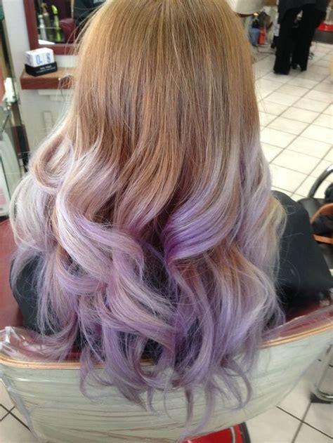 lavender ombre yelp hairables pinterest pastel