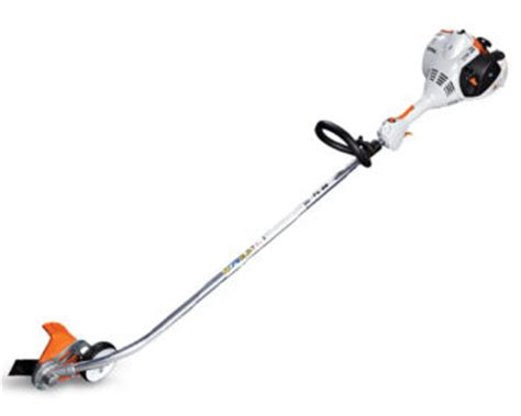 stihl bed edger stihl mm 55 c e yard tiller