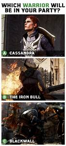 Which Warrior Will Be In Your Party Dragon Age