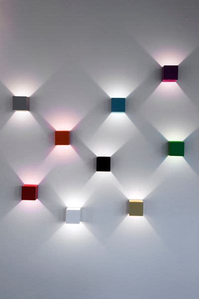 lux is a simple wall l which produces a decorative
