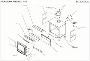 Exploded Diagram For Stovax Stockton 5 Stove