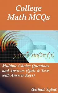 Read College Math Multiple Choice Questions And Answers