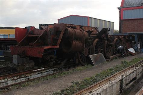 The Last Locomotive Left At Dai Woodham's
